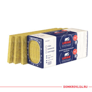 Упаковка утеплителя URSA ТеплоСтандарт плитами