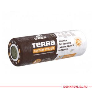 Внешний вид утеплителя URSA Terra QN35 Скатная Крыша