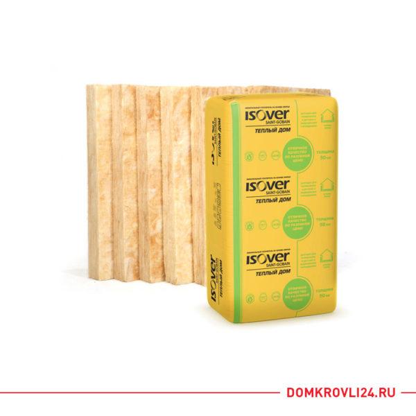 Утеплитель ISOVER Теплый дом (Плита 50 мм)