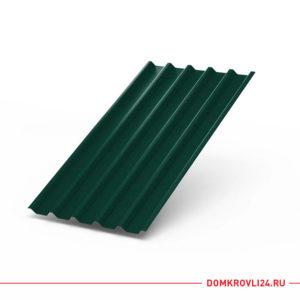 Профлист С-44 темно зеленого цвета