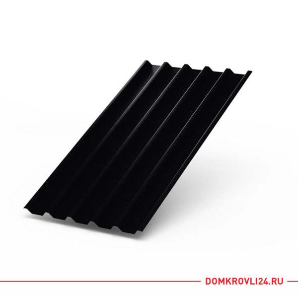 Профлист С-44 черного цвета