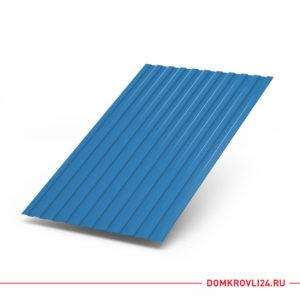 Профлист С-8 синего цвета