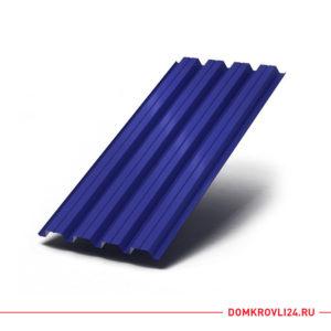 Профлист Н-60 синего цвета
