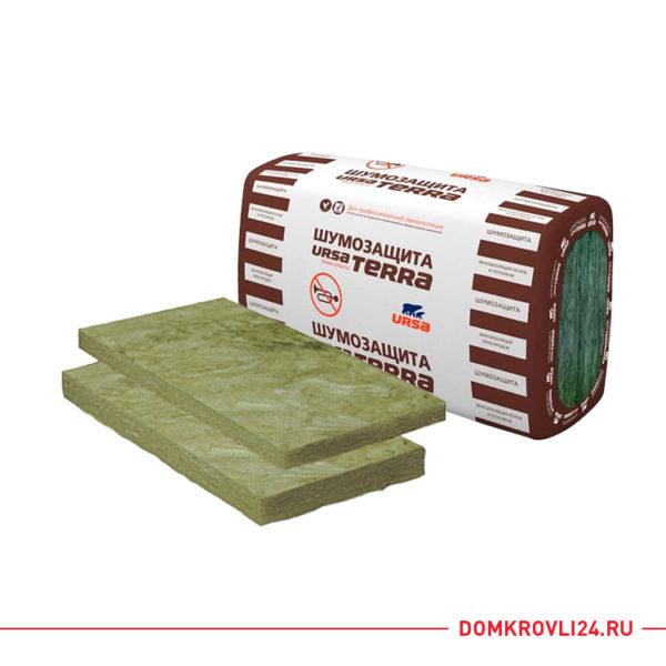 Утеплитель URSA Terra Шумозащита минеральные плиты