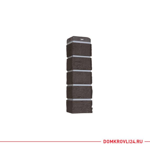 Угол Grand Line состаренный кирпич (шоколадный)