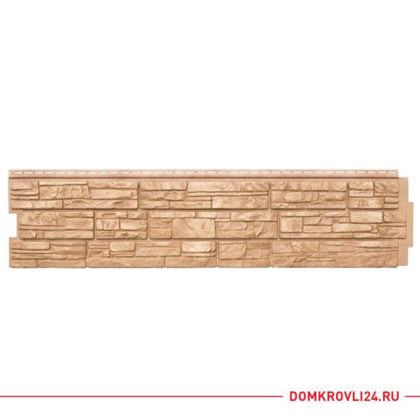 Фасадная панель Я-фасад крымский сланец, цвет янтарь