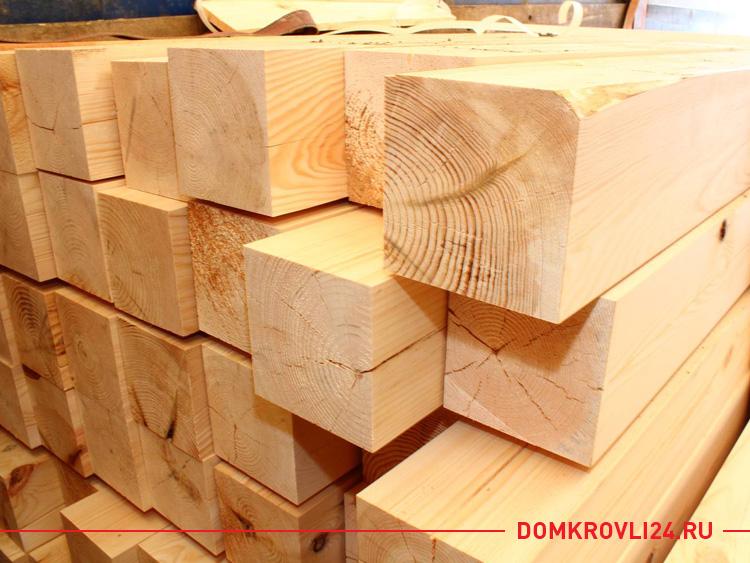 Брус деревянный 150х150